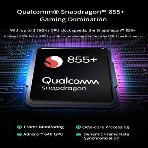 Image 4 - Global Version Xiaomi สีดำ SHARK 2 Pro 8GB 128GB Snapdragon 855 PLUS OCTA Core GAMING สมาร์ทโฟน 48MP กล้อง 4000mAh แบตเตอรี่