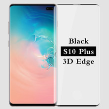 3D full cover tempered glass for samsung galaxy s10 plus s10plus screen protector samsungs10 galaxys10 plus Phone safety film HD(China)