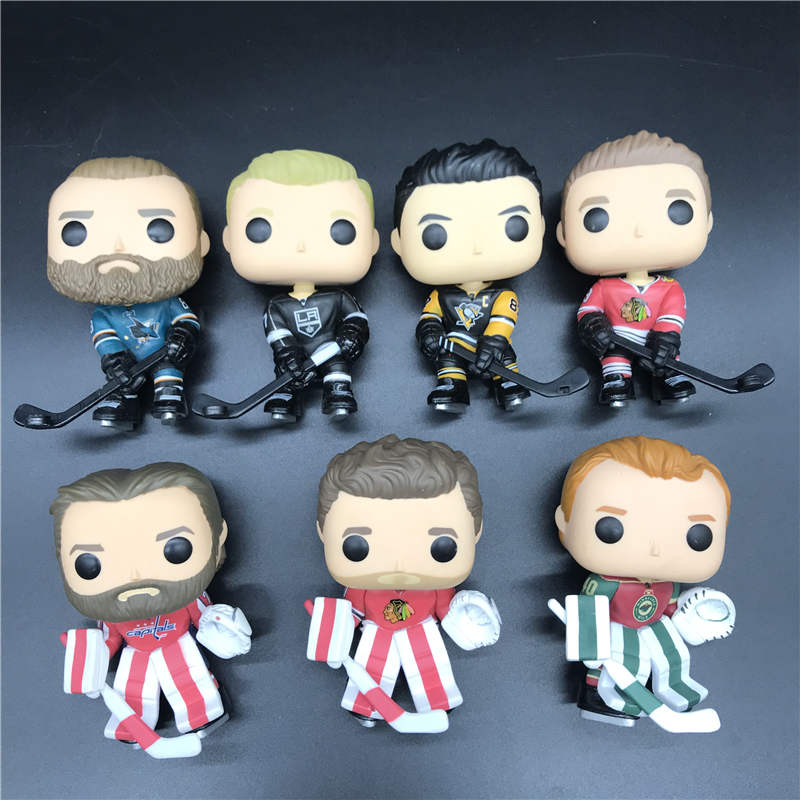 Hockey Character Model Toy BRENT BURNS /COREY CRAWFORD/DEVAN DUBNTK/BRADEN HOLTBY/JONATHAN TOEWS/JEFF CARTER/EVGENI MALKIN