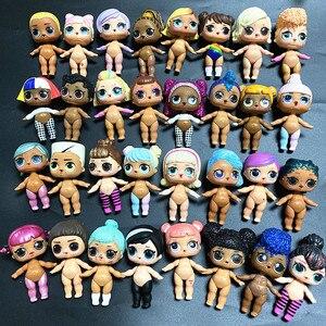 L.O.L. Сюрприз! 1 шт. кукла + 1 шт. одежда большая сестра 8 см куклы Детская коллекция кукла LOL платье кукла подарок на день рождения игрушка|Куклы|   | АлиЭкспресс