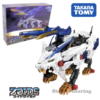 takara tomy tomica Zoids Zoids wild ZW15 awakening wild Liger baby toys diecast miniature geno saurer mould deformable bauble