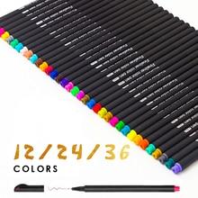 100 Colors 0.4mm Fine Tip Art Marker Pen Fine liner Pens Smooth Sketch Pen Art Supplies for Animation Manga Drawing 0 4 mm fine liner gel pens 60 colors set sketch drawing color pen art markers for drawing manga design art set supplies