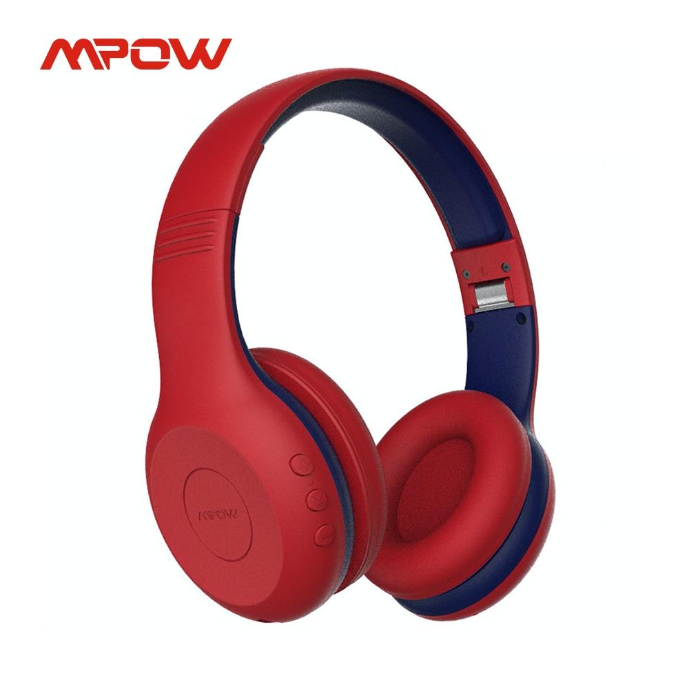 Mpow CH6 плюс Bluetooth наушники V5.0 Беспроводной гарнитура 95dB ограниченное с микрофоном 15 часов проигрывания для он-лайн исследование PC коврик для ...