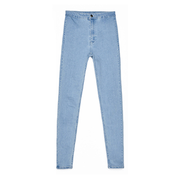 2019 Autumn and Winter European And American Style Slim Thin Hip High Waist Tight Jeans Women's Trousers High Elastic Feet Pants 4