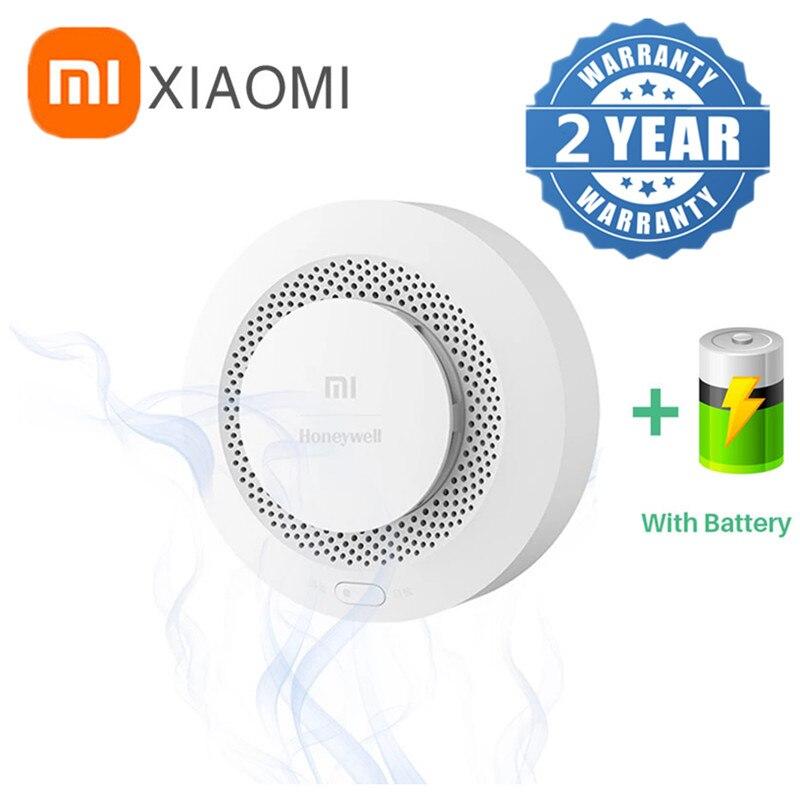 2021 New Xiaomi Smoke Sense Guard Carbon Monoxide Fire Alarm Remote Reminder Bluetooth Connect Gateway Detector Mi Home Sensor