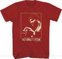 Thelonious monge carmesim camiseta S-M-L-XL-2XL novo oficial oi fidelidade merch algodão camiseta legal casual