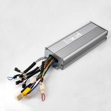 Ebike Controller 36v 48V 1500W 2000W Sinus Welle Controller 18 Mosfet Elektrische Fahrrad 45A Controller Kompatibel mit KT LCD5 Display