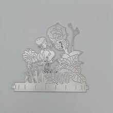 Цветы металлический Трафаретный вырубной штамп diy Скрапбукинг