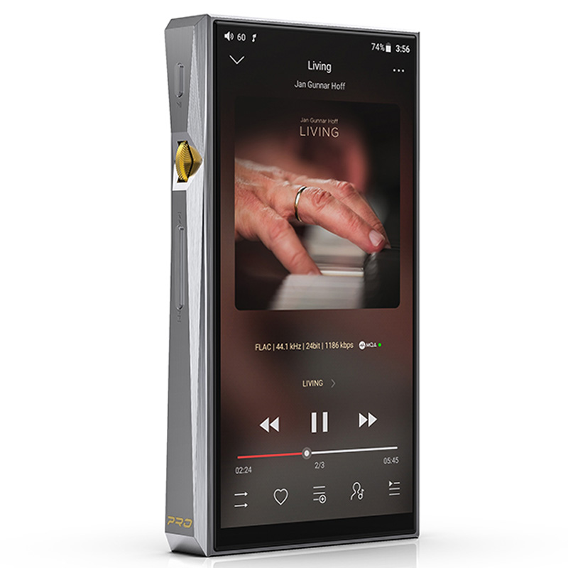 Fiio Limited-Edition Hi-Res-Player Android Dsd/tidal Dual-Ak4497/thx Pro with Aaa-78/atpx title=