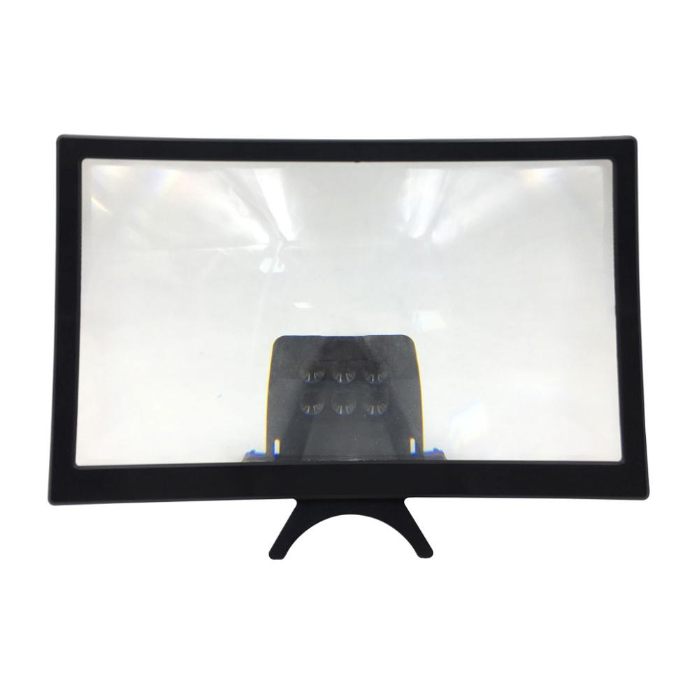 "12"" HD Stend Enlarged Screen Mobile Phone Projection Phone Cinema Amplificatore Schermo Lupa Para Celular Magnifier Amplifier 4"