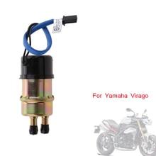 12V 1.2-1.4A uniwersalny motocykl pompa paliwa elektryczna pompa paliwa wylot 10mm dla Yamaha Virago XV FZR 400 XV535 FZX250 FZR600