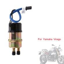 12V 1.2 1.4A evrensel motosiklet yakıt pompası elektrikli yakıt pompası çıkış 10mm Yamaha Virago XV FZR 400 XV535 FZX250 FZR600
