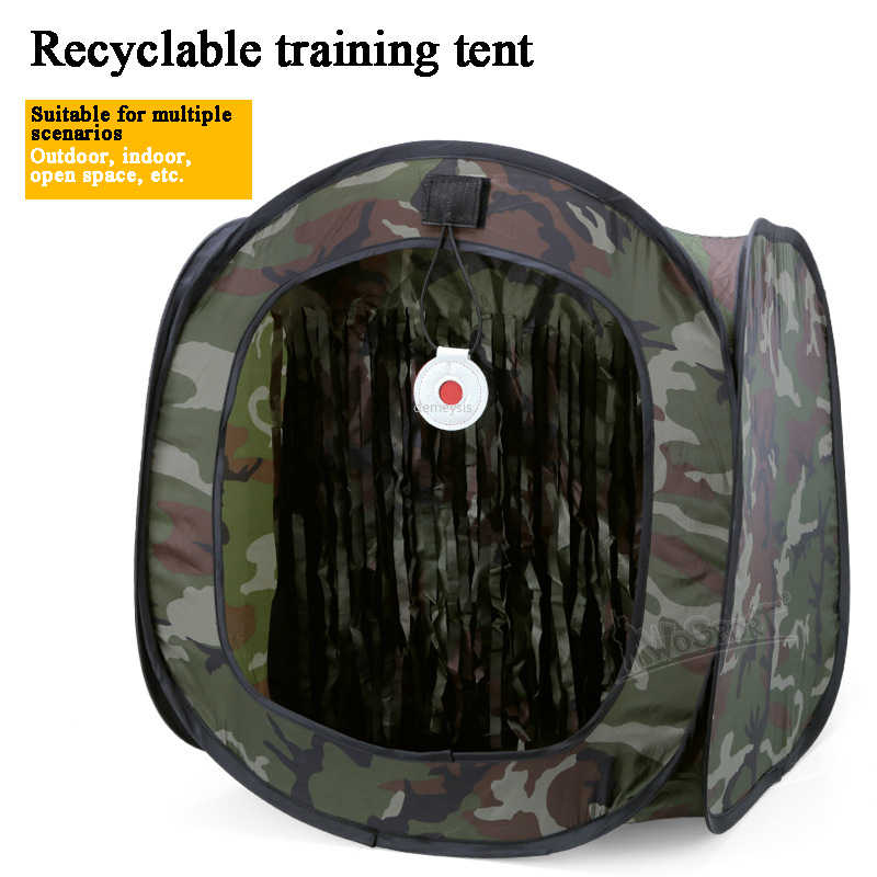 Boogschieten Jacht Catapult Case Airsoft Schieten Training Tent Opvouwbare Slingshot Tactische Bb Target Shooting Tent