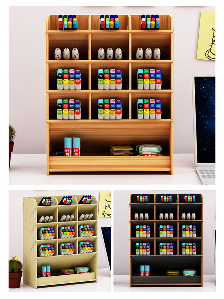 Organizer Storage-Box Pen-Holder Desktop Office Personality Ornaments Learning-Blogger