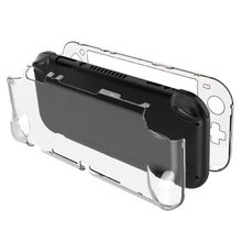 Clear PC Hard Case Protective Cover Shell for Nintend Switch Lite NS Mini Game Console Crystal Transparent Full Body Protector(China)