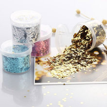 Party Achtergrond Decor Diy Glitter 3 Mm Laser Pailletten Pentagram Sequin Ballonnen Accessoires Nail Art Decoratie 1 Doos(China)