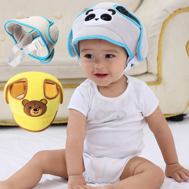 Baby Boys Girls Hat Protective Helmet Anti-collision Safety Hat Walking Kids Cap