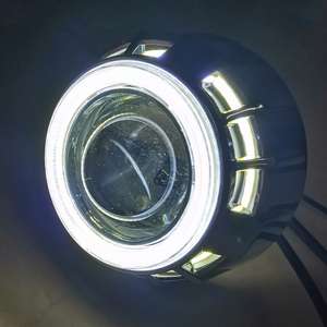 "Image 3 - Dland 自身 zse 2.5 ""ミニバイ led プロジェクターレンズキット、 lhd rhd 簡単なインストール H1 H7 H4 ヘッドライト 36 ワット biled 低ハイビーム"