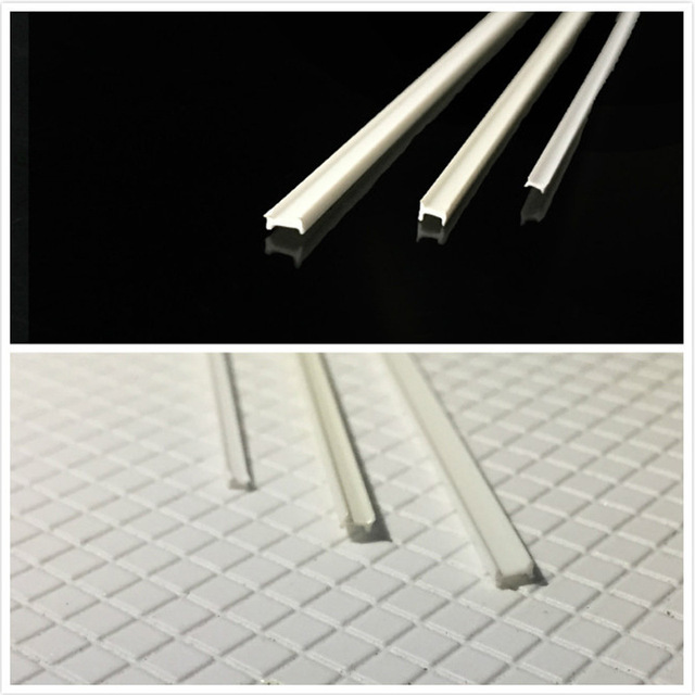 10PC ABS Plastic Model H Special Modelling length of 25cm Building Model landscape layout and DIY materials 3