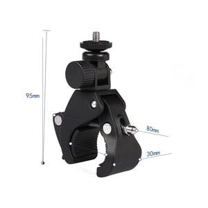 Image 2 - Quick Release Screw Clamp Bracket Bike Handlebar Mount 1/4 Tripod Bicycle phone holder Stick Phone Stand