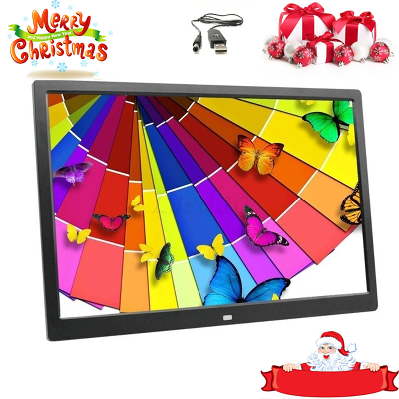 Digital-Photo-Frame Electronic-Album Music-Video 15inch Full-Function LED HD Good-Gift