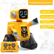 intelligent RC Robot Learn Popular science Knowledge English Multi-function Early Education Robot Children's Educational toys