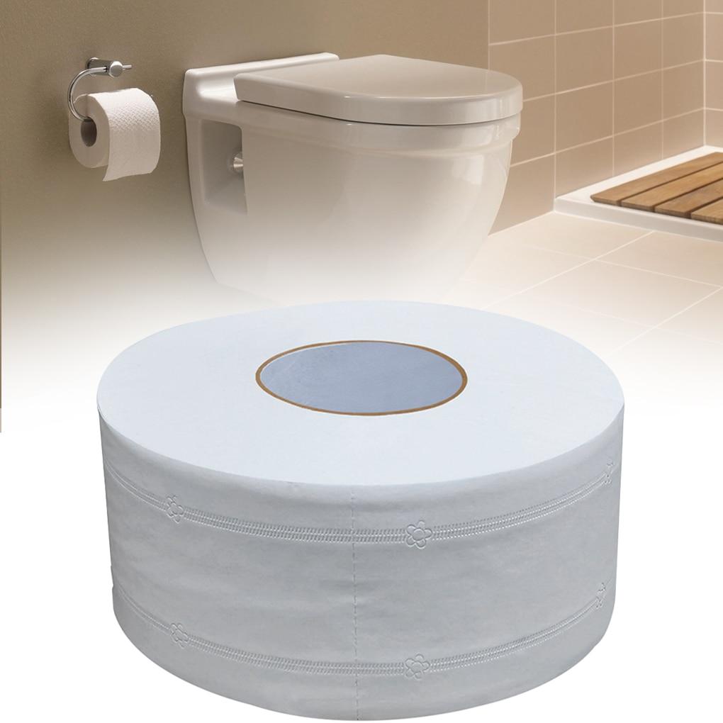 Toilet Paper Roll Towel Home Hotel Restaurant KTV Bathroom Washroom Toilet Wood Pulp Paper