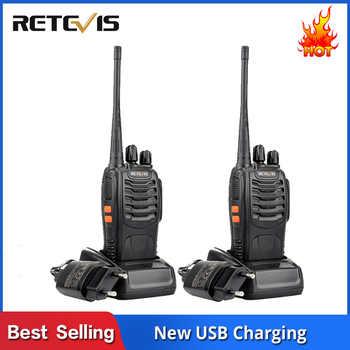 2 pcs Retevis H777 Cheap Walkie Talkie Radio 3W UHF Handheld Transceiver Two-way Radio USB Charging Walkie-Talkie Communicator - Category 🛒 Cellphones & Telecommunications