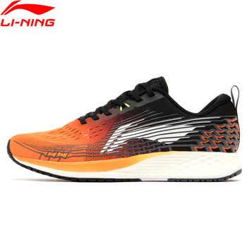 Li-Ning Männer GRUNDLEGENDE RACING SCHUHE Laufschuhe Licht Gewicht Marathon Futter li ning Atmungsaktive Sportschuhe Turnschuhe ARBP037 XYP908
