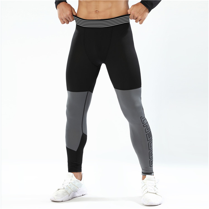 Mens Compression Pants Full Tights Compression Leggings Jogging Tights Gym Trousers Training Pants Slim fitting Leggings for Men|Trousers| |  - title=
