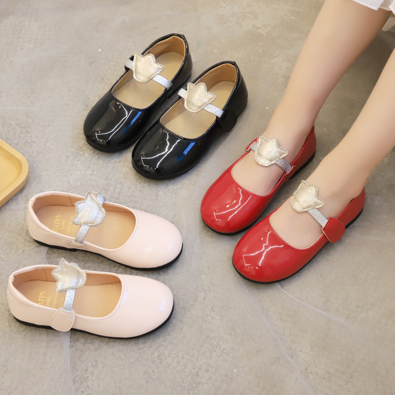 Skoex Little Girls Fashion Princess Shoes Soft Bottom Wear Resistance Breathable Ballerina Slip on Children's Toddler Shoes|Sneakers| |  - title=