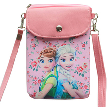 Disney Frozen 2 Elsa Anna Cartoon Princess Messenger Cute Bag Hot Toys Christmas New Year Gift for Children cheap 12-15 Years one size In-Stock Items Cloth Mini 19 CM Fashion Movie TV Girls Fashion Doll Matryoshka Doll Ethnic Dolls
