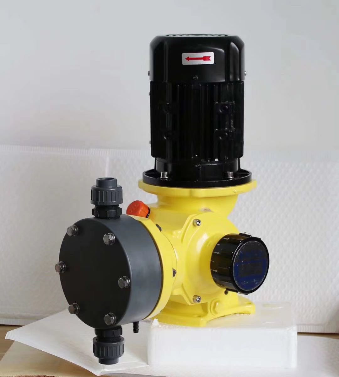Machinery GB Hydraulic Diaphragm Metering Pump RA