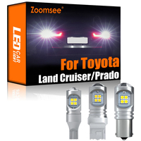 Zoomsee 2Pcs LED retromarcia bianco per Toyota Land Cruiser 70 80 100 200 Prado 90 120 150 FJ Canbus lampadina posteriore di Backup esterna