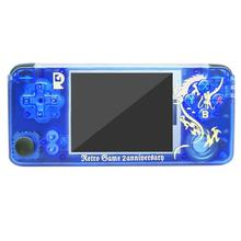 Q9 3 inch Rocker Retro Handheld Game Console 3000 Games w/32G Memory Card Player AV Out TV Video