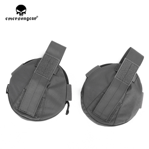 Image 5 - Emersongear Tactical spalla armatura Pad protezione spalla armatura custodia per AVS CPC Vest accessori 2 pezzi esercito equipaggiamento militare