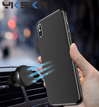 Ultra Dunne Magnetische Auto Telefoon Case Voor Iphone 11 Pro X X Xs Max 7 8 Plus Tpu Cover