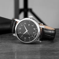Islamischen Uhr Automatische Selbst wind Bewegung Luxus Männer Uhr Mechanische Bewegung Wasserdichte Uhren Männlichen-in Mechanische Uhren aus Uhren bei