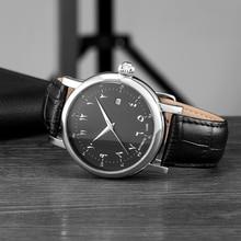 Islamischen Uhr Automatische Selbst wind Bewegung Luxus Männer Uhr Mechanische Bewegung Wasserdichte Uhren Männlichen