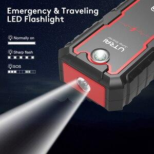 UTRAI 22000mAh Auto Starthilfe Power pack Tragbare Auto Batterie Booster Ladegerät 12V Ausgangs Gerät Benzin Diesel Auto starter
