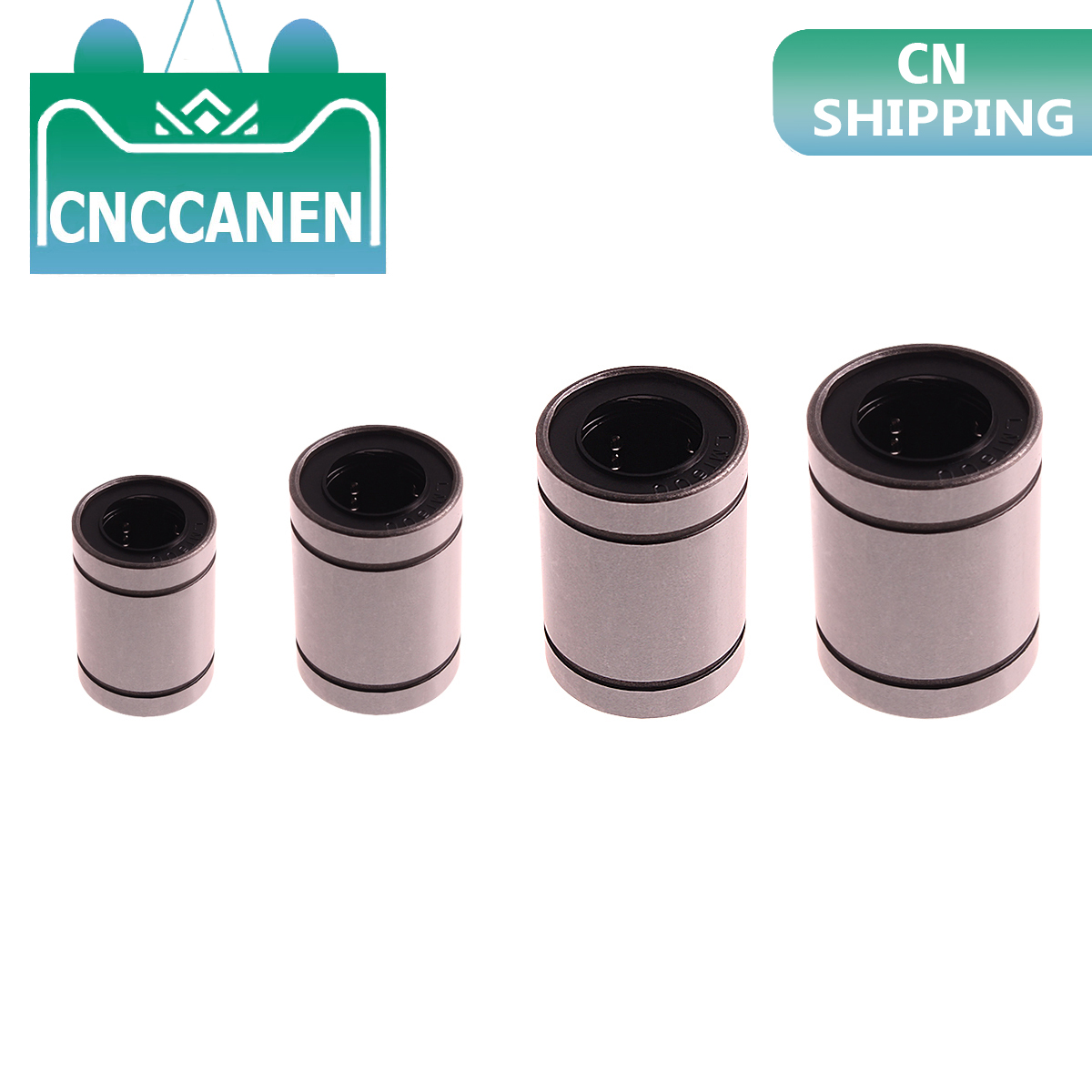 1PC LM8UU LM10UU LM16UU LM6UU LM12UU LM3UU Linear Bushing 8mm CNC Linear Bearings For Rods Liner Rail Linear Shaft Parts