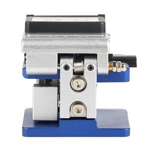 Image 3 - FC 6S Кливер для холодного контакта с 12 лезвиями, металлический материал, FTTH волоконный кабель, резак, нож, инструмент