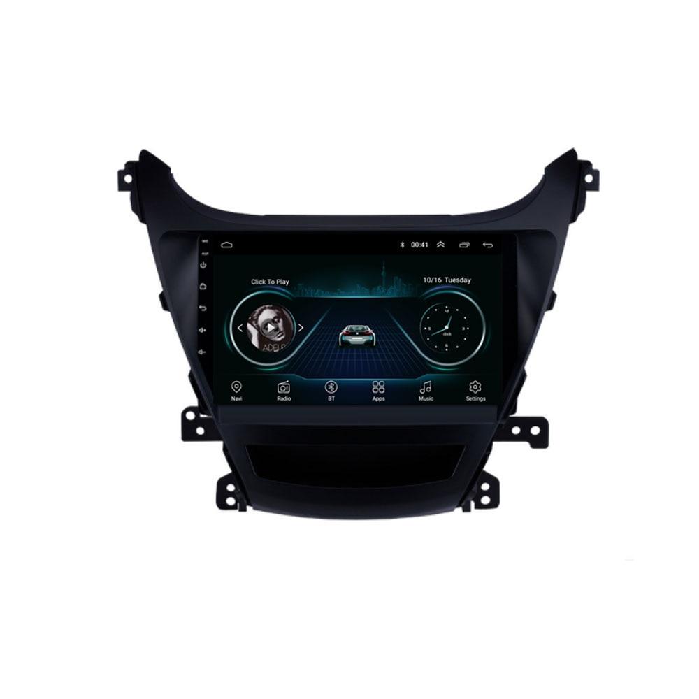 4G LTE Android 8.1 For HYUNDAI ELANTRA Avante 20112012 2013 2014 2015 2016 Multimedia Stereo Car DVD Player Navigation GPS Radio