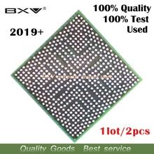 2 stücke 2019 + 216 0752001 100% test arbeit sehr gut reball mit kugeln BGA chipset für laptop freies versand tracking nachricht