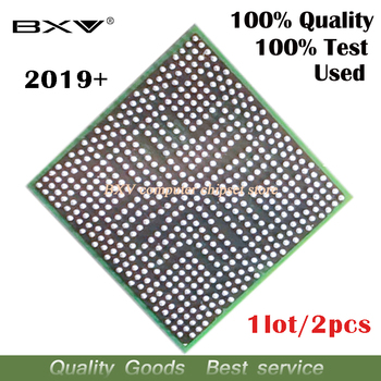 2pcs 2019+ 216-0752001 100% test work very well reball with balls BGA chipset for laptop free shipping tracking message 216 0752001 215 0752001