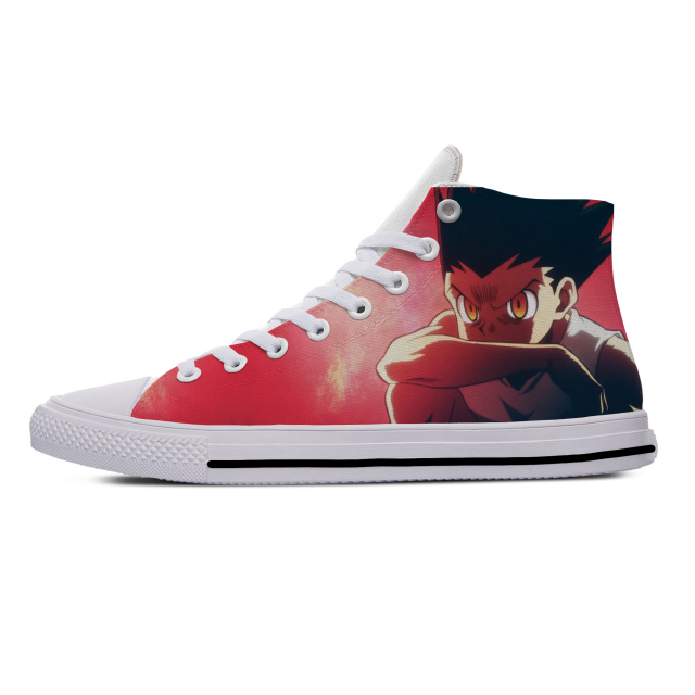 HUNTER X HUNTHER HIGH TOP SHOES (5 VARIAN)