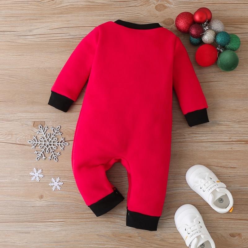 НОВАЯ РОЖДЕСТВЕНСКАЯ одежда комбинезон для маленьких девочек