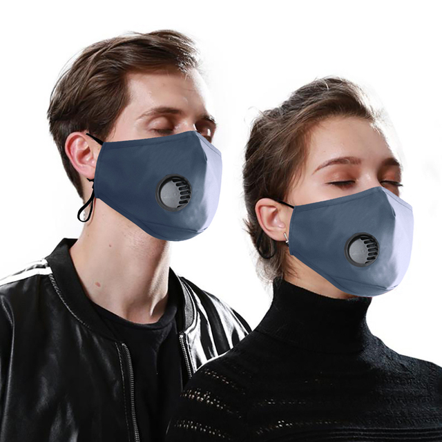 Face Mouth Mask Respirator Reusable Unisex Mask Breathable Anti-dust Haze Flu PM2.5 Face Masks Care For Travel Cycling D30 5