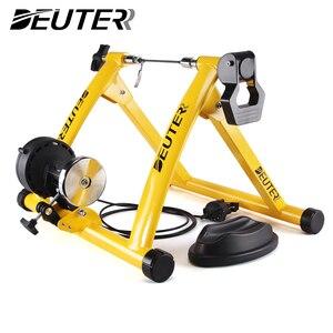 Free Indoor Übung Fahrrad Trainer 6 Ebenen Hause Bike Trainer MTB Rennrad Radfahren Ausbildung Roller Fahrrad Rack Halter Stehen