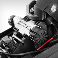 Cavaleiro preto assento baixando kit para bmw s1000xr r1200rt lc k1600gt r1200gs lc r1250gs r 1250 rt acessórios da motocicleta Kits e peças de elevação Automóveis e motos -